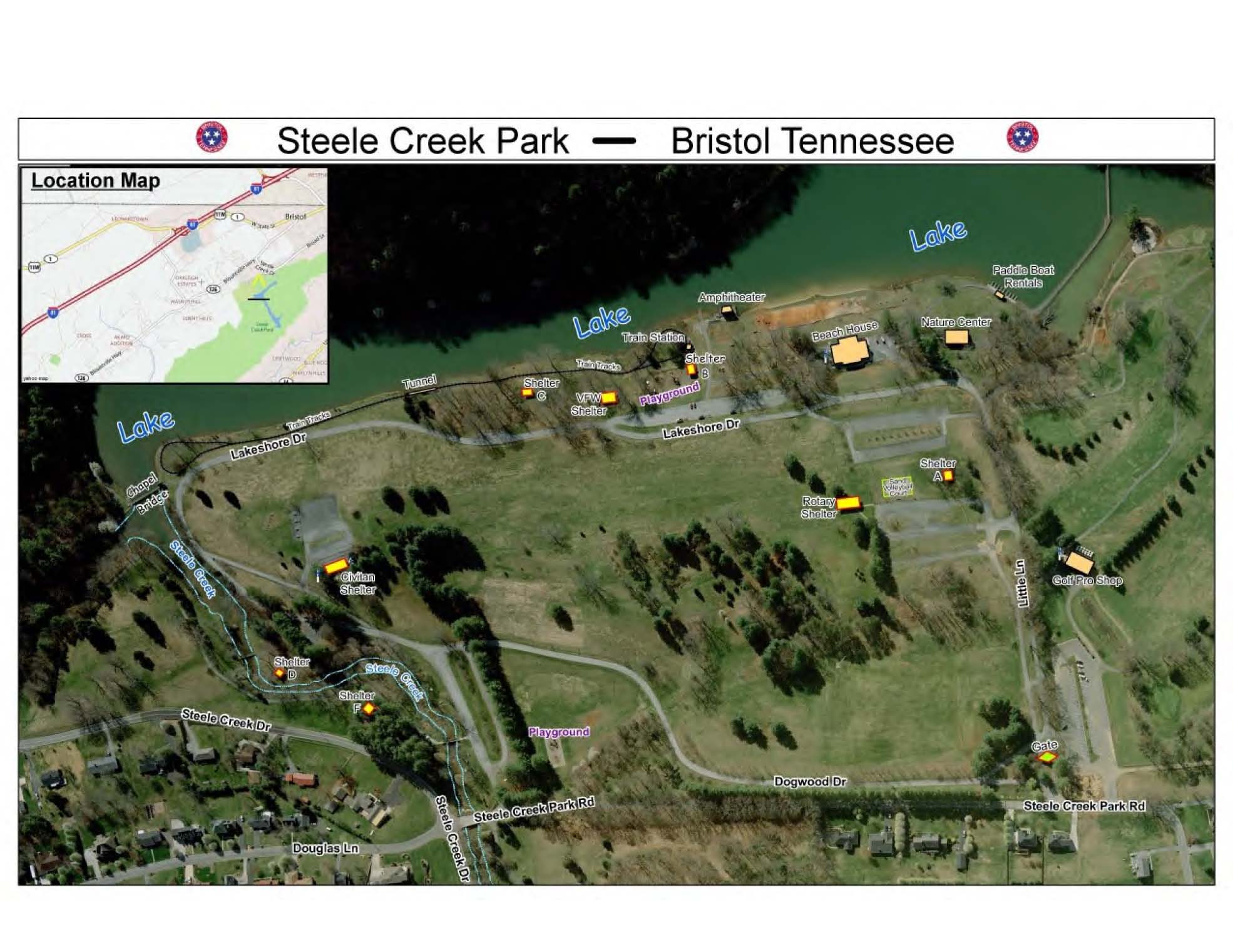 Friends Of Steele Creek Nature Center And Park Maps And